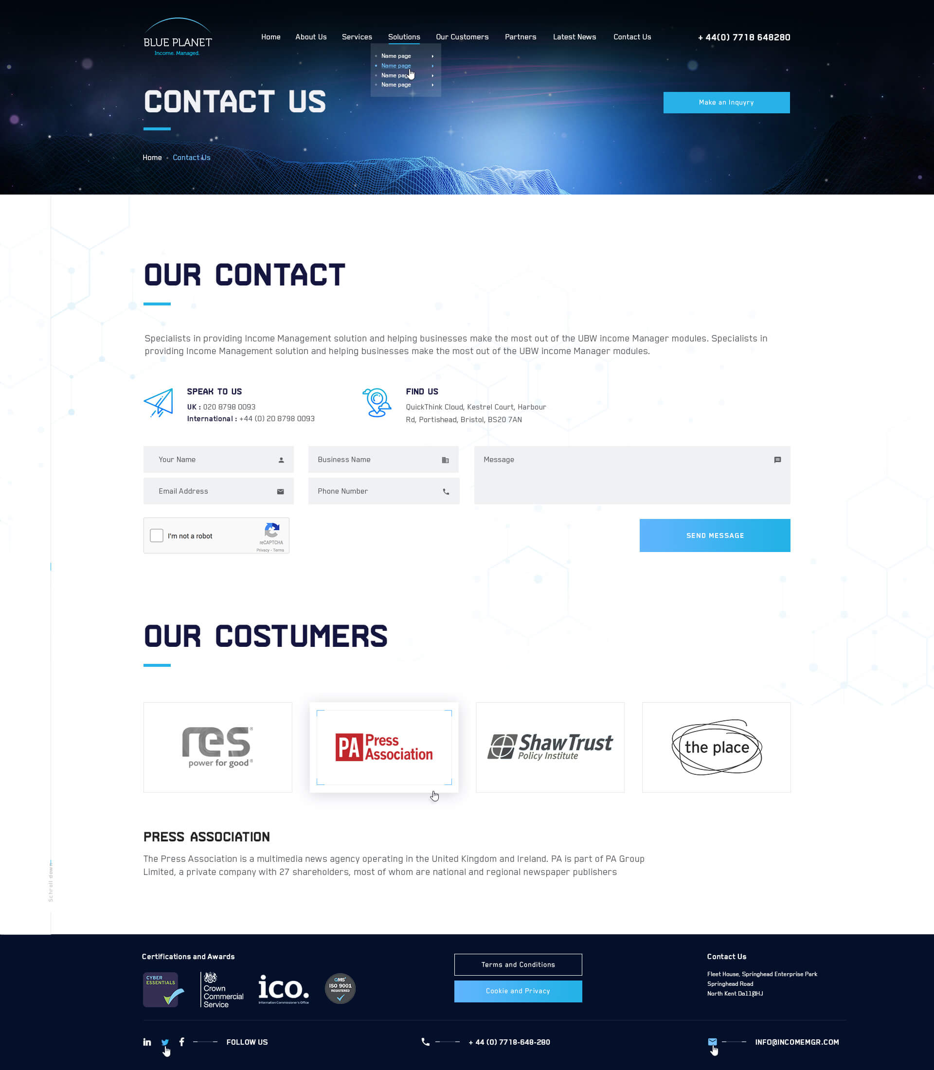 Blue Planet Soft_Contact_Us