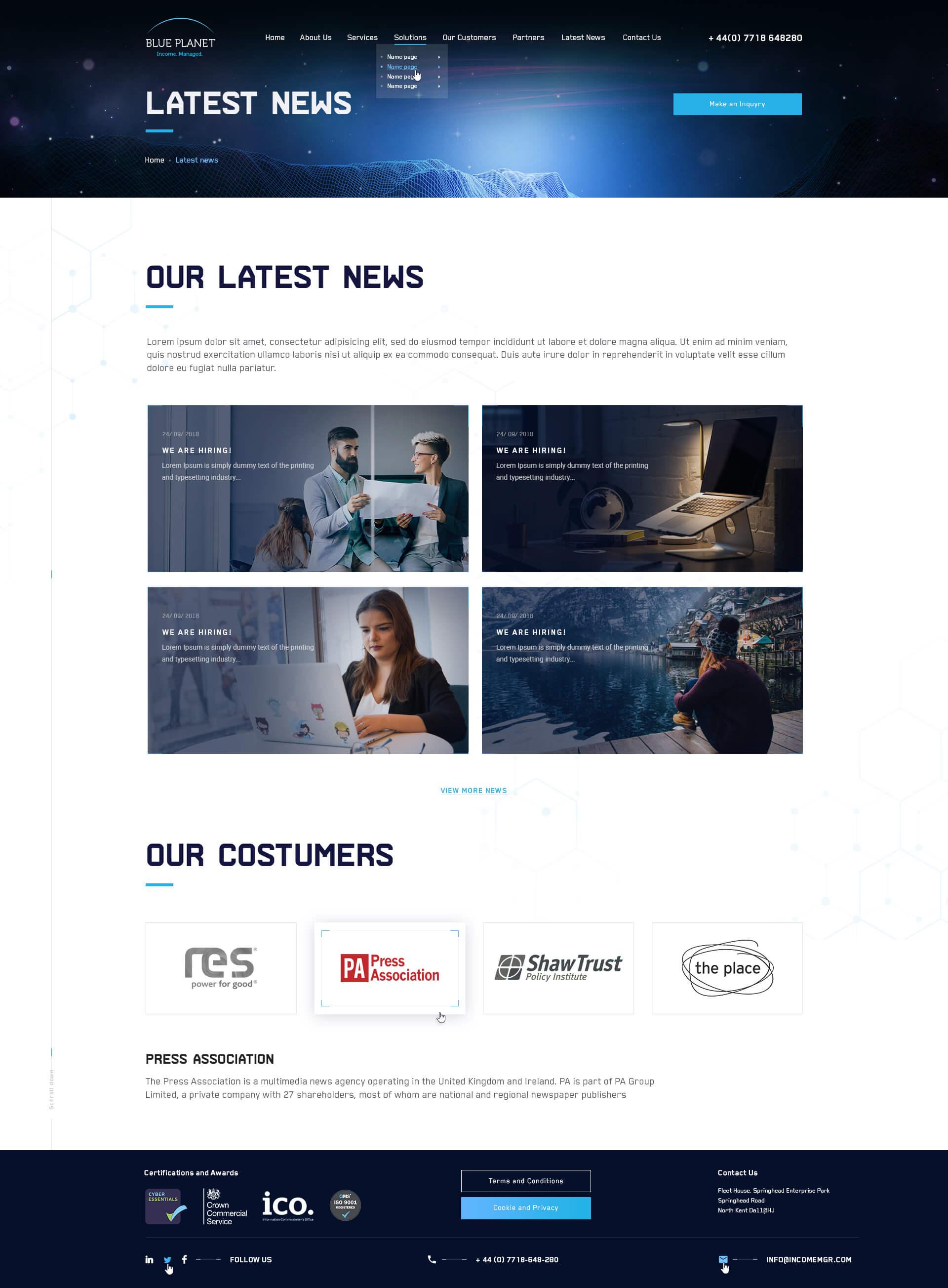 Blue Planet Soft_News