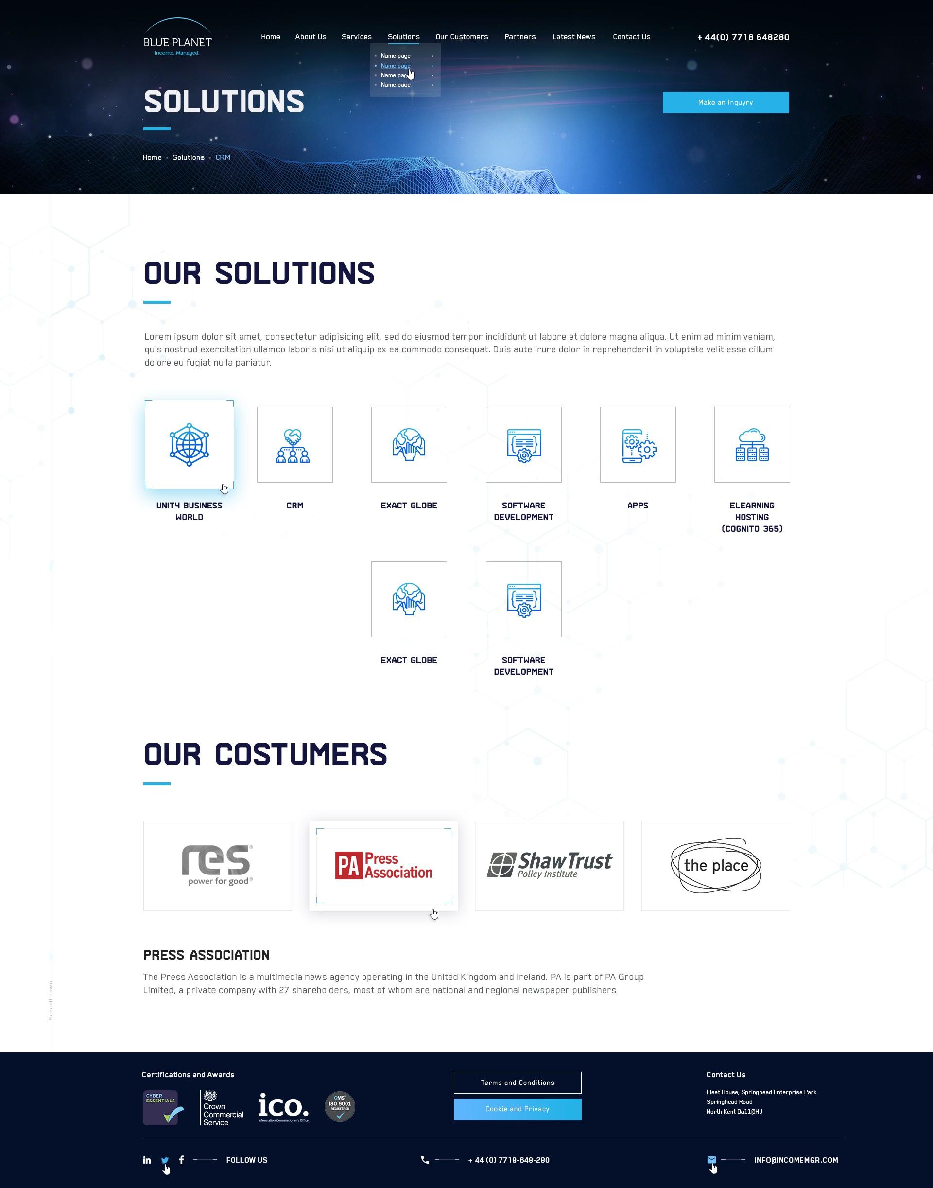 Blue Planet Soft_Solution